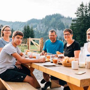 Familie Eberle Von Der Alpe Kassa Wildmoos (Foto: Weissengruber)
