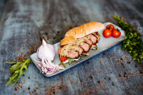 Rib Eye Sandwich Rezept Heer Foto Sams