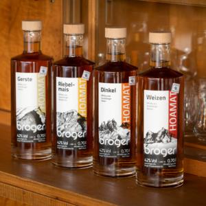 Veredelte Ländle Produkte, Broger Hoamat Whisky