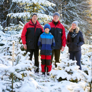 Familie Kaufmann, Ländle Christbaum, Foto: Christoph Pallinger