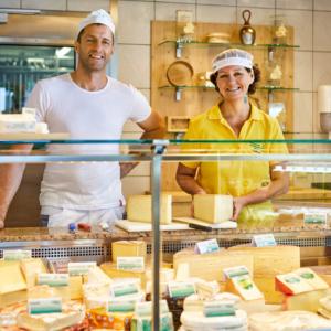 Sennereilädele, Dorfsennerei Schlins-Röns, Ländle Milchprodukte, Foto: Christoph Pallinger