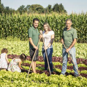 Fam. Lumaßegger/Brunner, Mahlerhof, Ländle Gemüse, Foto: Weissengruber
