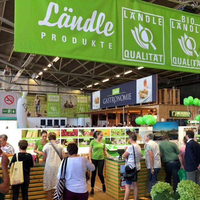 Dornbirner Messe, Halle 4, Ländle Produkte, Ländle Quiz